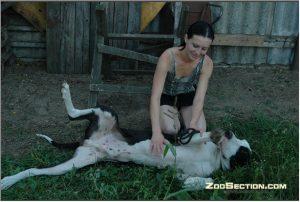 Возбудила песика отсосом и дала поебать настоящее фотки zoo