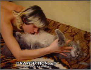 Секс с кошкой